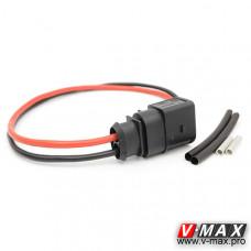 157240077 Силовой разъем (папа) с проводами.
