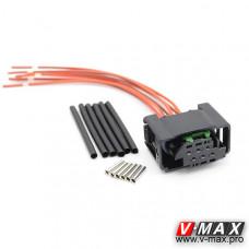 157240089 Разъем датчика уровня (мама) с проводами.